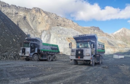 SANY launches autonomus mining trucks in drive to develop safer solutions