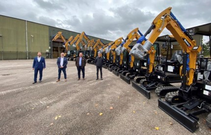 SANY Announce Global Recycling Solutions as Dealer for East Anglia