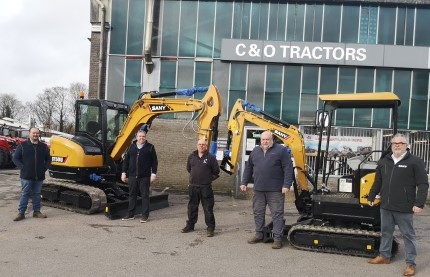 SANY Announce C&O Tractors as New Dealer for English South Coast